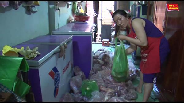 [Video] Bù Đăng: Phát hiện, tiêu hủy 255kg thịt bẩn